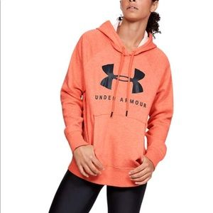 Under Armour Womens Rival Fleece Sportstyle Hoodie